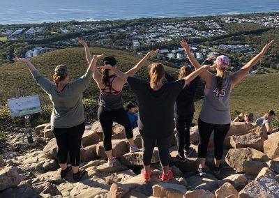 Danielle and friends Mt Coolum