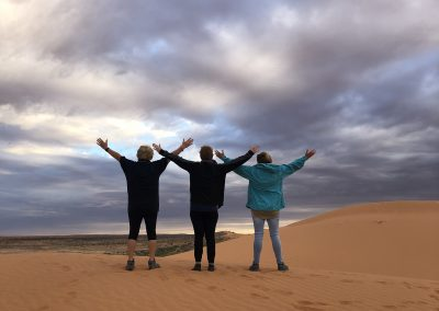 Nicky, Angela & Bobbie - Big Red, Simpson Desert